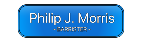 Philip Morris Motoring Law barrister